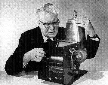 Chester Carlson was an  American inventor and physicist born in Seattle, Washington. Due to the  precarious health of both his parents, he had to support his family  from an early age