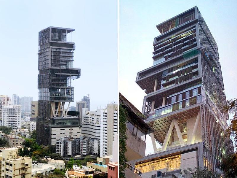 A mumbai la casa pi grande del mondo jimi paradise - La casa piu costosa del mondo ...