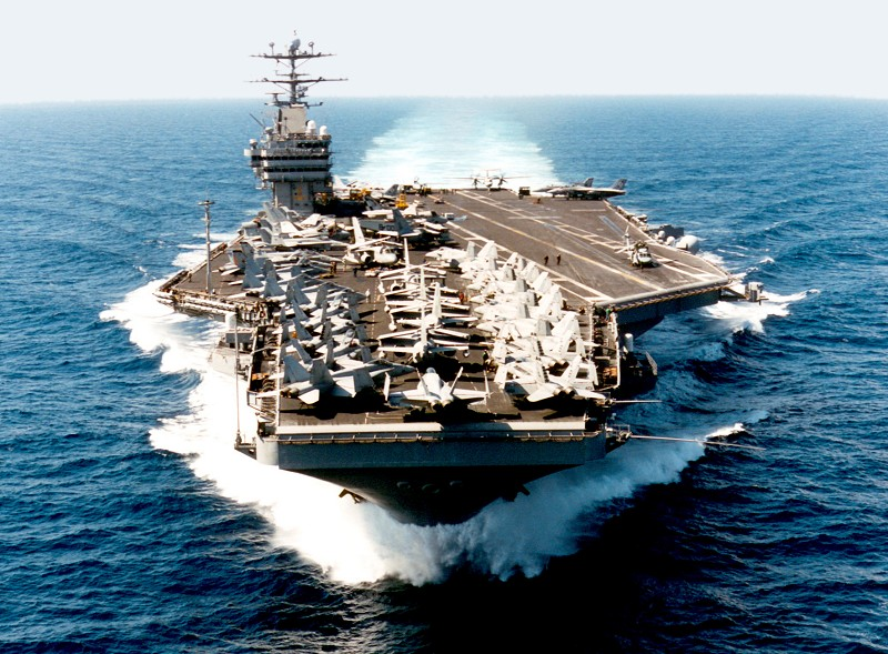 Corea del Norte espera el Portaaviones de EEUU
