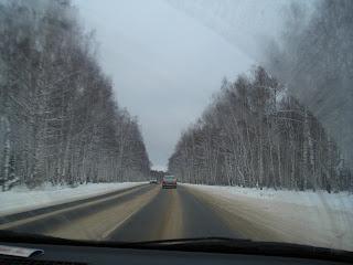 Дорога в Семенов
