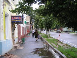 Дождик в Семенове