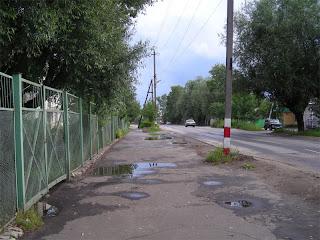 Дороги в Семёнове