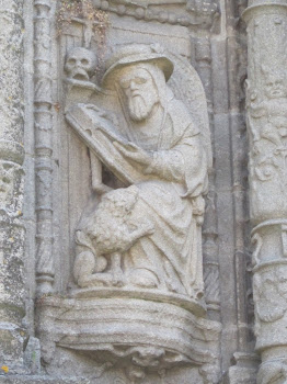 San Jerónimo (Basílica Sª.María, Pontevedra)
