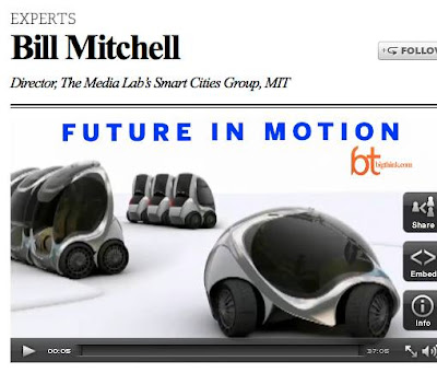 MIT Media Lab's Bill Mitchell Interviewed