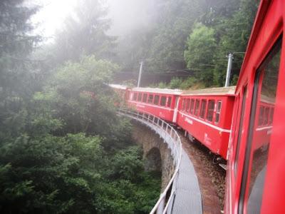 Hiking and Eating in Poschiavo Switzerland