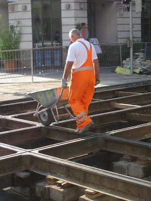 Westbahnstrasse Tram Track Reconstruction