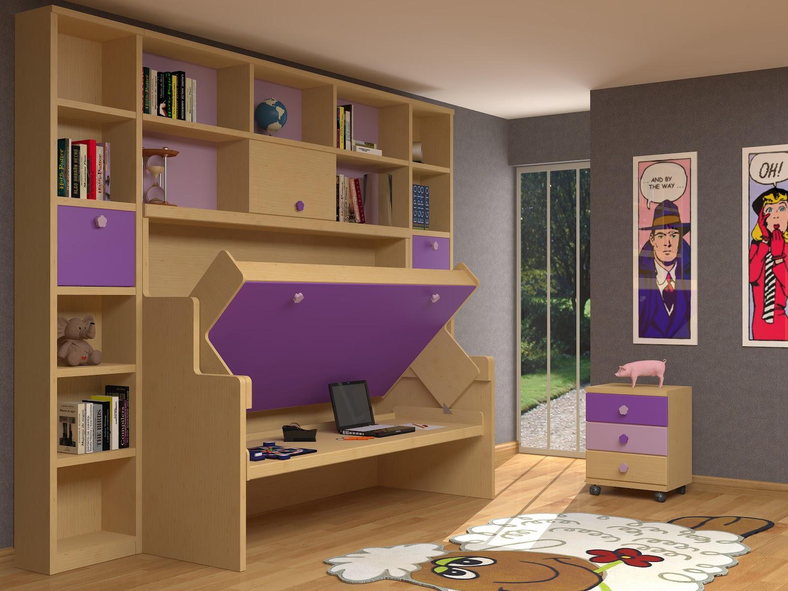 Muebles juveniles dormitorios infantiles y habitaciones - Muebles cama abatibles ...