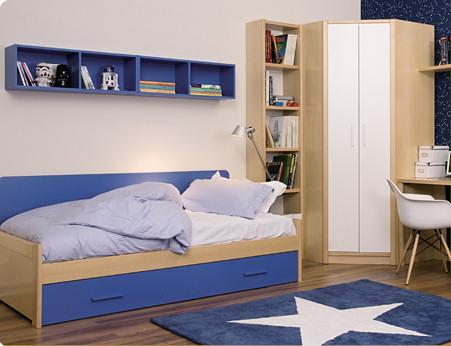 Muebles juveniles dormitorios infantiles y habitaciones juveniles en madrid mueble juvenil en - Dormitorios infantiles modernos ...
