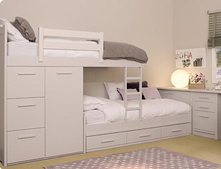 Muebles juveniles dormitorios infantiles y habitaciones for Muebles juveniles de madera