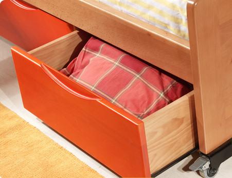 Muebles juveniles dormitorios infantiles y habitaciones for Muebles juveniles lacados en blanco
