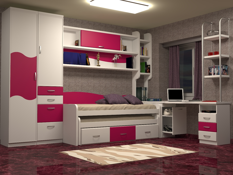 Tienda dormitorios juveniles decoraci n integral para tu - Muebles dormitorio juvenil ...