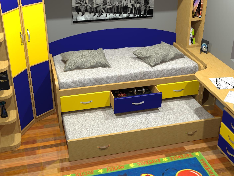 Tienda dormitorios juveniles decoraci n integral para tu for Cama nido divan
