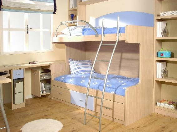 Tienda dormitorios juveniles decoraci n integral para tu for Mueble cama con cajones