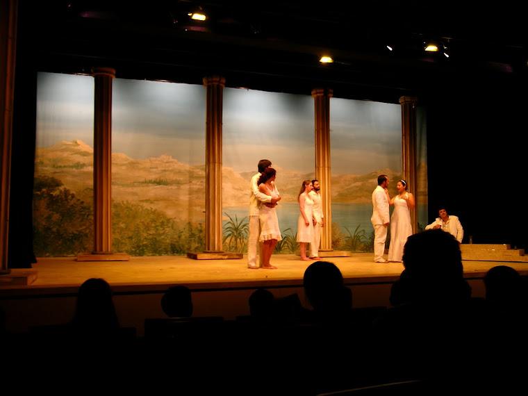 Décors du théâtre Lamartine ,2009, Genève