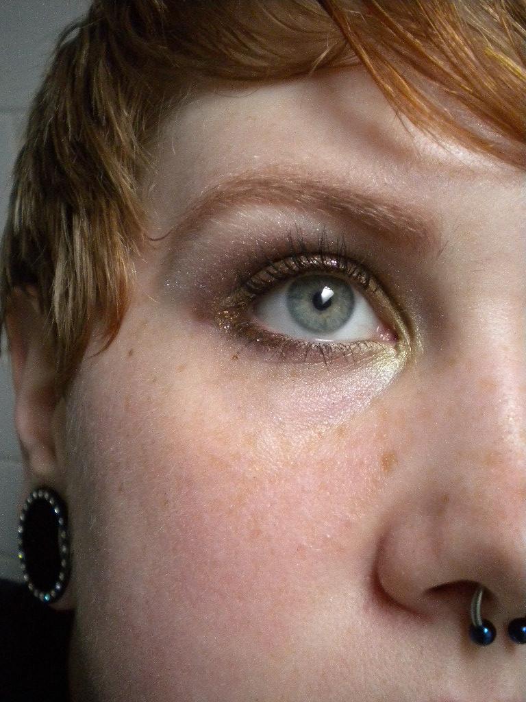 Glitter Mascara Sephora Sephora Glitter Liner Gold