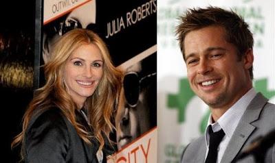 Julia Roberts dan Brad Pitt akan Shooting Film baru, di Bali
