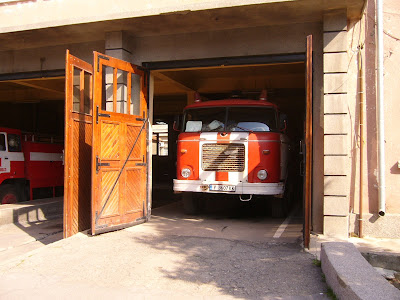 Yambol's Fine Fire Station Doors