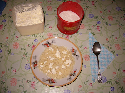 Bulgarian Pasta for Breakfast