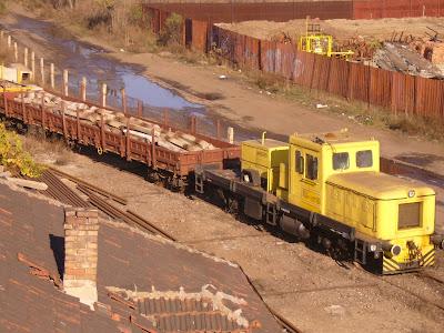 A Goods Train in Yambol