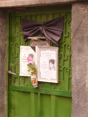 Remembering the Dead on Yambol Doors