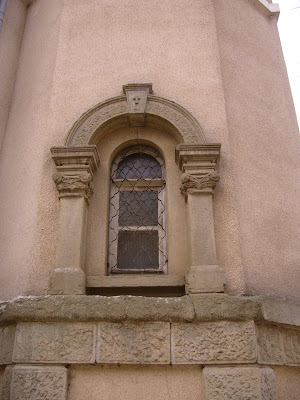 St Nikolai's Church - An Arched Window