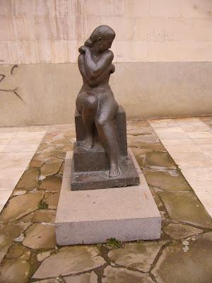 Yambol's Museum Statue - Nude Woman