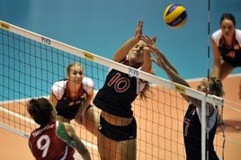 Volleyball - Bulgaria Beat USA