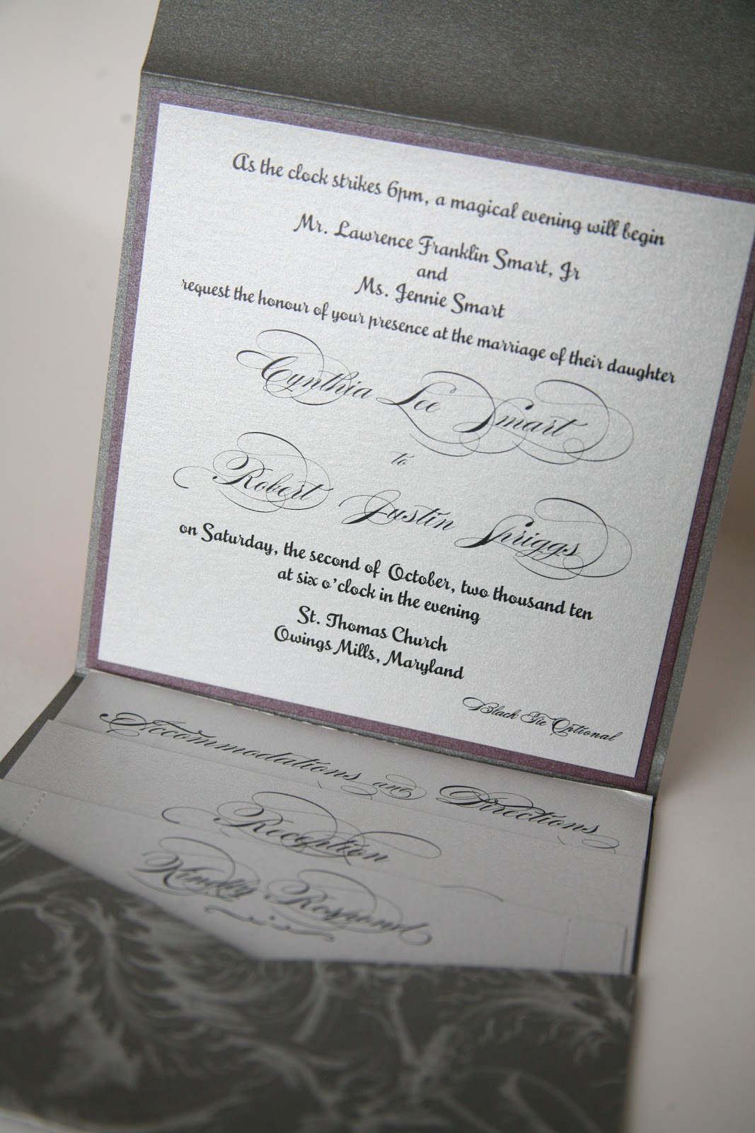 Cinderella Themed Wedding :: Wedding Invitations Baltimore Kindly ...