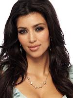 kim kardashian head