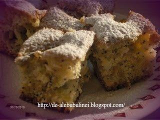 Articole culinare : Prăjitură cu prune si struguri
