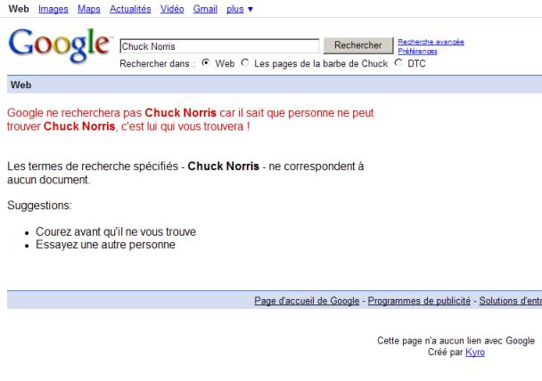 Humour/Insolite Chuck