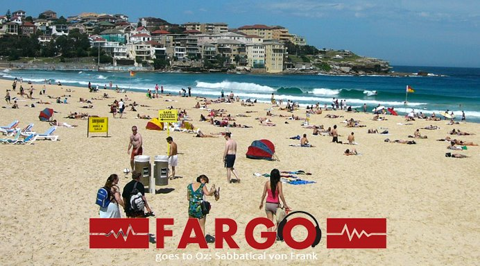 FARGO goes to Oz - Sabbatical von Frank Bohnet