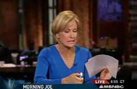 Mika Brzezinski Of MSNBC Rips Paris Report
