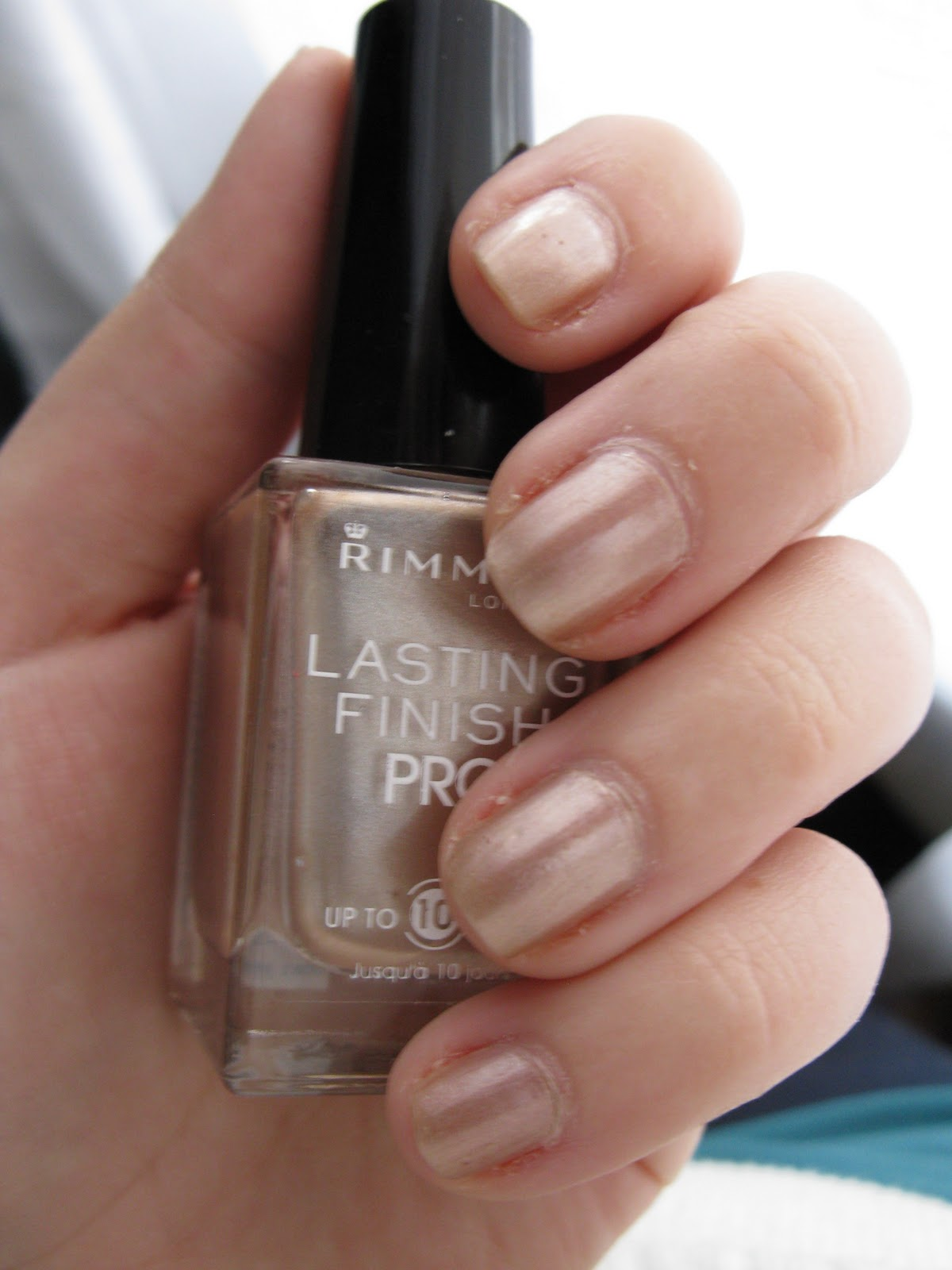 Beauty and the Newb: Rimmel London Lasting Finish Pro Nail Polish in ...