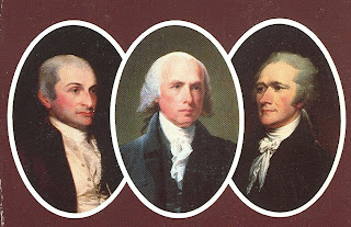 Who wrote the federalist papers and what was their purpose
