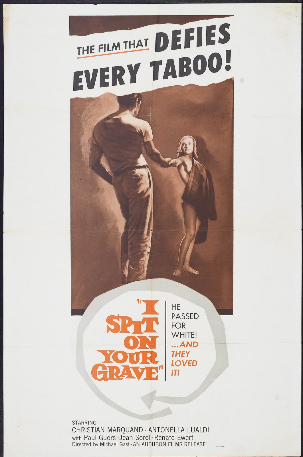 i spit on your grave 1959 poster 01 ... daily continental breakfast, adult entry to the Spa, tennis court hire, ...