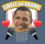 Sweet on Obama Sixteen Logo
