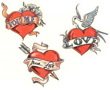 Love Tattoos on Love Tattoo  Funny Love Tattoos