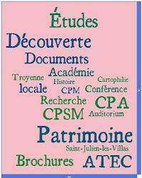 Procurez-vous les brochures de l&#39;Acadmie troyenne d&#39;tudes cartophiles