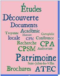 Procurez-vous les brochures de l'Académie troyenne d'études cartophiles. Plus de 80 sujets dispo