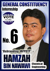 VOTE FOR #6 : HAMZAH NAWAWI