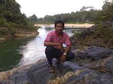 Gambar di air terjun cemerong, Dungun, Trg