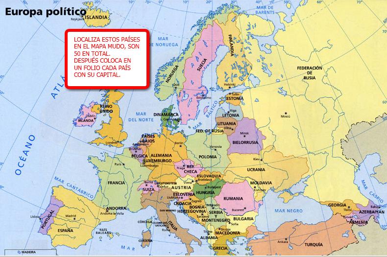 100 ideas Mapas Politicos De Europa Interactivos on