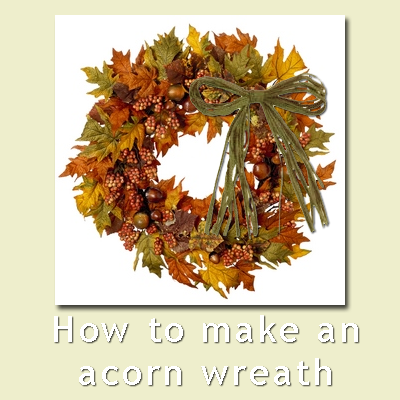 Diy do it yourself home improvement hobbies garden for How to preserve acorns for crafts