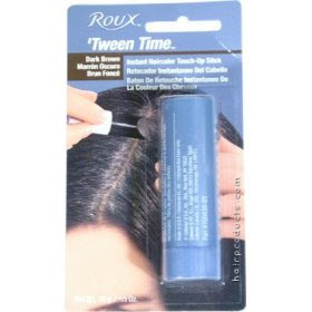 REVLON Roux Tween Time Instant Haircolor Touch Up Stick DARK BROWN 10g/0.33oz