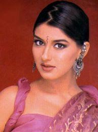 Sonali with funky earrings