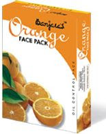 Orange face pack from Banjara Herbals