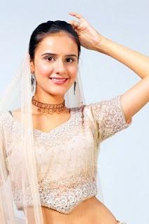 graceful Indian girl