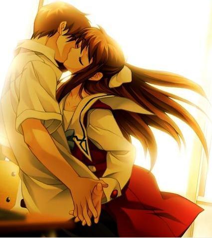 imagenes de amor anime. AMOR ANIMED