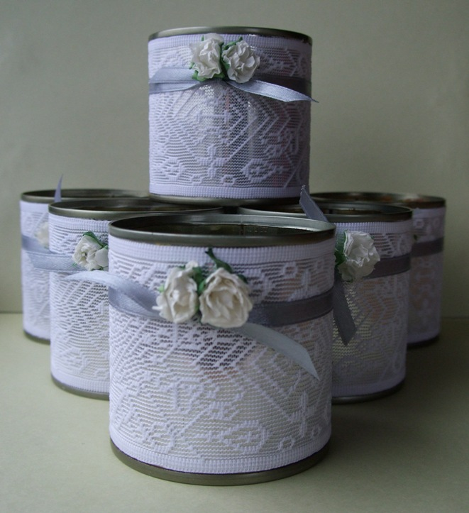 Creations blog recycle craft tin can tealights for Tin cans for crafts